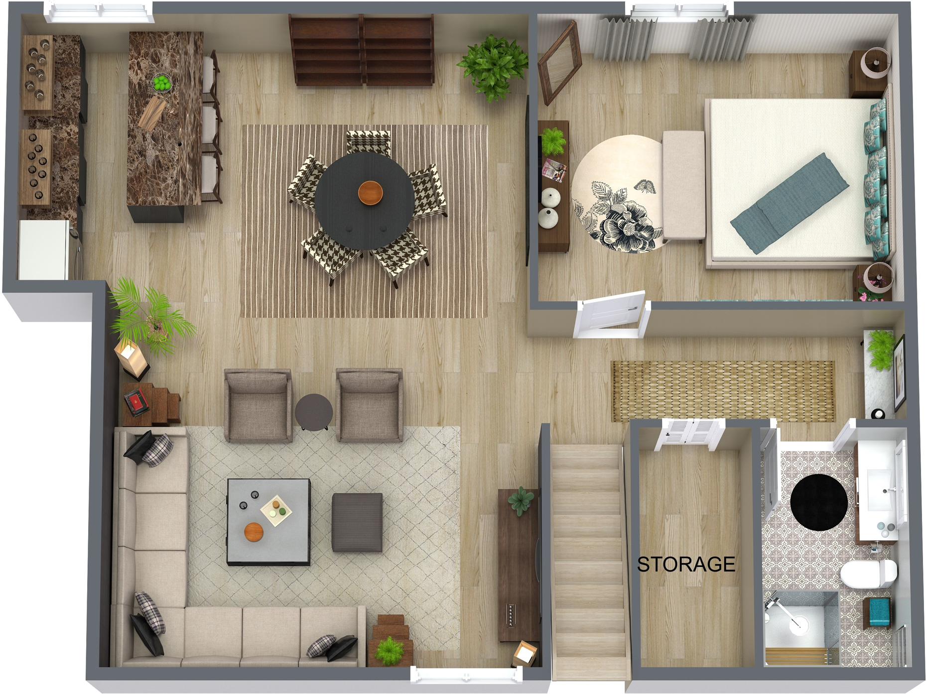 3D house space