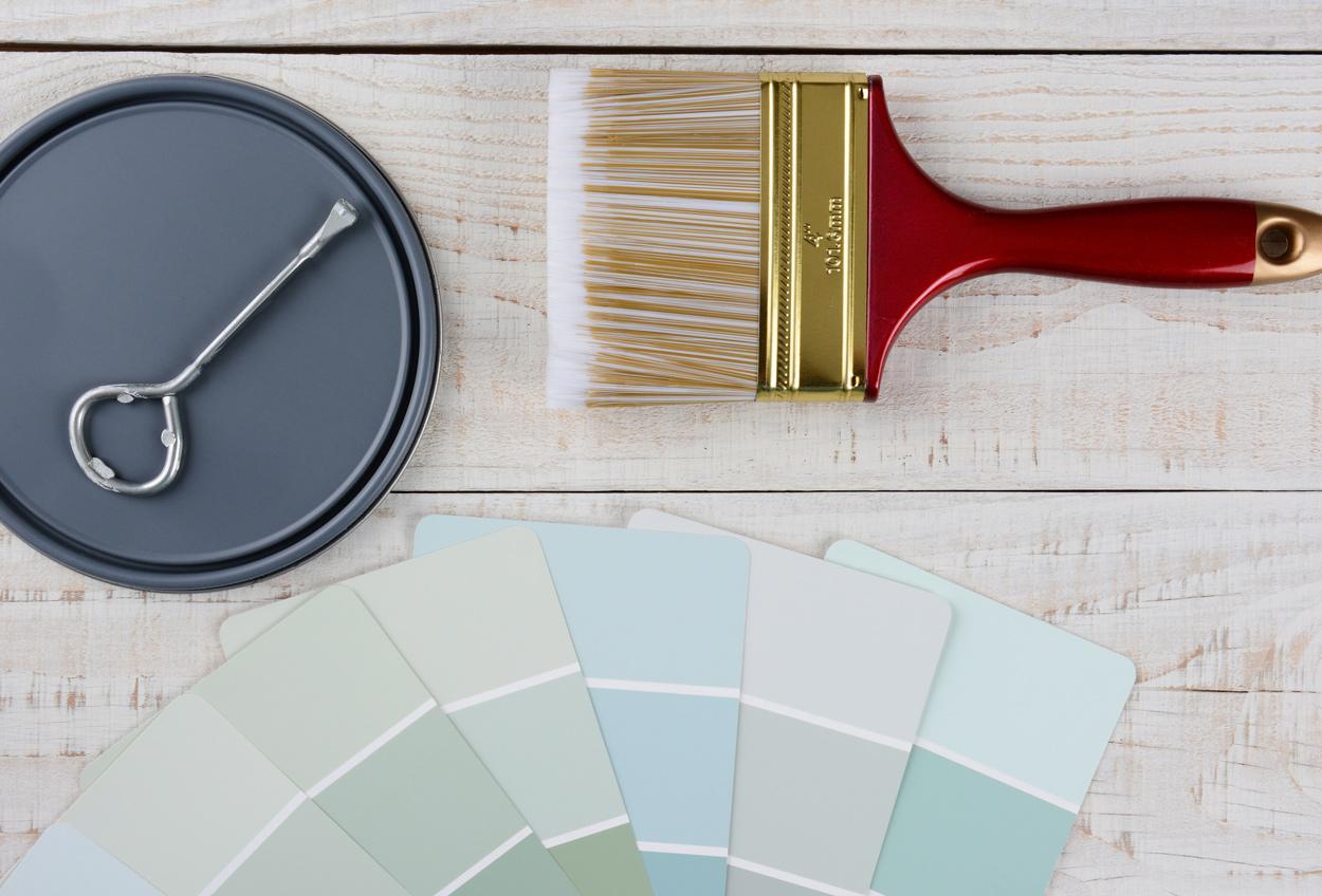 Color Consultation fan deck colors