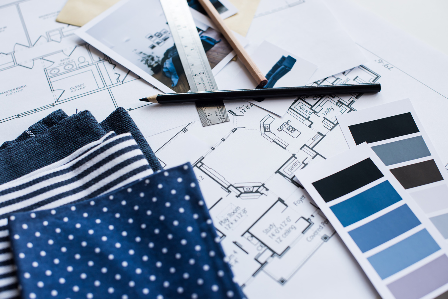 Design consultation for fabric & color options